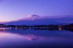 Le mont Fuji Photographie stock libre de droits