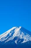 Le mont Fuji couronné de neige Images libres de droits