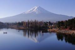 Le mont Fuji - un iconique du Japon image libre de droits