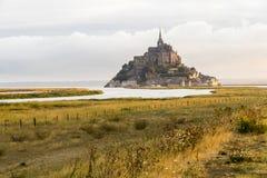 Le Mont-Heilig-Michel, Frankreich lizenzfreie stockfotografie