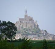 Le Mont-Helgon-Michel Frankrike royaltyfria foton