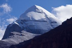 Le mont Kailash Photo libre de droits