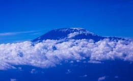 Le mont Kilimandjaro Photo libre de droits