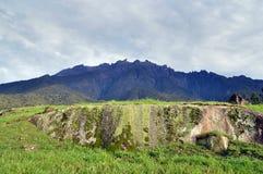 Le mont Kinabalu Images libres de droits
