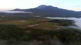Le mont Kinabalu au ranau Sabah Image libre de droits