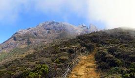 Le mont Kinabalu, Bornéo, Malaisie images libres de droits