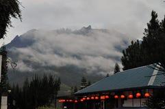 Le mont Kinabalu, Sabah Image stock