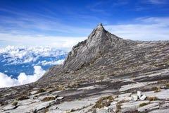 Le mont Kinabalu, Sabah, Bornéo, Malaisie Images stock