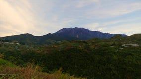 Le mont Kinabalu, Sabah banque de vidéos