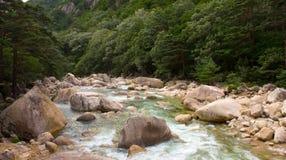 le Mont Kumgang Image libre de droits