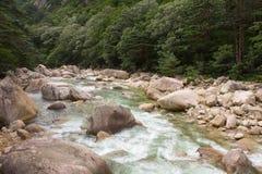 le Mont Kumgang Photos libres de droits