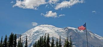 Le mont Rainier, Washington, Etats-Unis image libre de droits