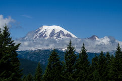 Le mont Rainier, Washington State, Etats-Unis Images stock