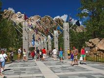 Le mont Rushmore Photos stock