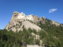 Le mont Rushmore Photo libre de droits