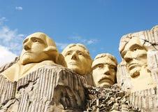Le mont Rushmore dans Lego Image libre de droits