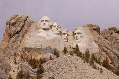 Le mont Rushmore majestueux image stock