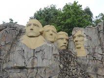 Le mont Rushmore, par LEGO Images stock