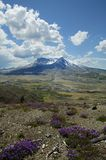 Le Mont Saint Helens, photographié en juin 2004, Washington, Etats-Unis Image stock