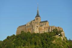 LE Mont Saint-Michel, Νορμανδία, Γαλλία Στοκ εικόνα με δικαίωμα ελεύθερης χρήσης