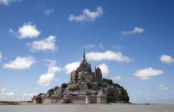 Le Mont Saint Michel. In the region of Basse Normandie Stock Photos