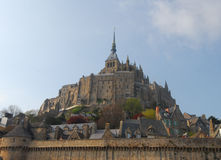 Le mont saint michel Stock Photography