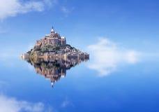 Le Mont Saint Michel Stockfotografie