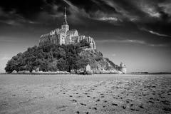 Le Mont-Saint-Michel Image libre de droits