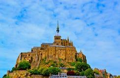 Le Mont Saint-Michel Royaltyfria Bilder