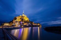 Le Mont-Saint-Michel Stock Afbeelding