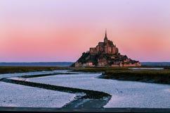Le Mont-Saint-Michel royalty-vrije stock foto's