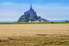 Le Mont Saint-Michel Imágenes de archivo libres de regalías