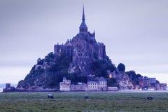 Le Mont Saint-Michel stockbilder
