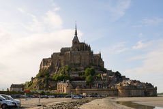 Le Mont Saint Michel. Abbey Le Mont Saint Michel. Normandy, France Stock Images