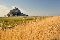 Le Mont-Saint Michel image libre de droits