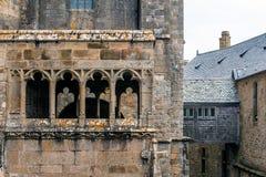 Le Mont Saint Michel, Bretaña, Francia Imagen de archivo libre de regalías