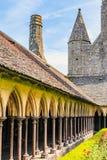 Le Mont Saint Michel, Bretaña, Francia Imagen de archivo