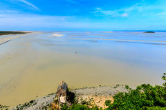 Le Mont Saint Michel, Bretagne, France. Royalty Free Stock Photos