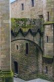 Le Mont Saint Michel, Bretagne, Frankrike Royaltyfria Foton