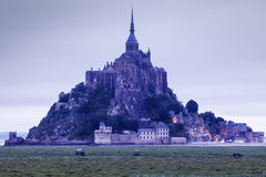Le Mont Saint-Michel Stock Images