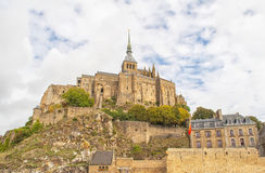 Le Mont Saint Michel,France Royalty Free Stock Photography