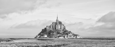 Le Mont Saint Michel,France Stock Photos