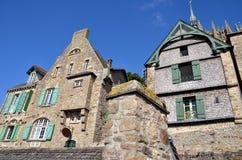 Le Mont Saint Michel, France Stock Photos