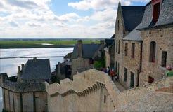 Le Mont Saint Michel, France Stock Images