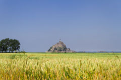 Le Mont Saint Michel, Francia Immagine Stock