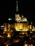 Le Mont Saint Michel, Frankrike Royaltyfri Fotografi