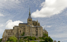 Le Mont Saint-Michel island Royalty Free Stock Images