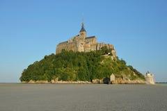 Le Mont Saint-Michel, Normandië, Frankrijk Stock Afbeeldingen