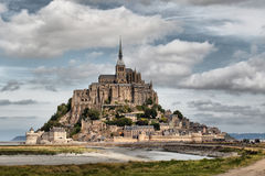 Le Mont Saint-Michel Stock Images