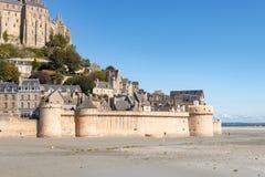 Le Mont Saint Michel, Normandy, France 2015 Stock Image